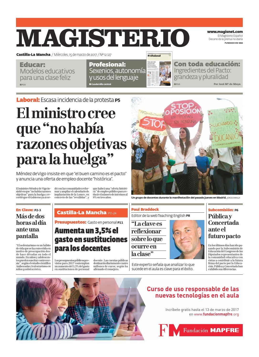 Magisterio Nº 12127 Edición Castilla-La Mancha by Grupo Siena - issuu