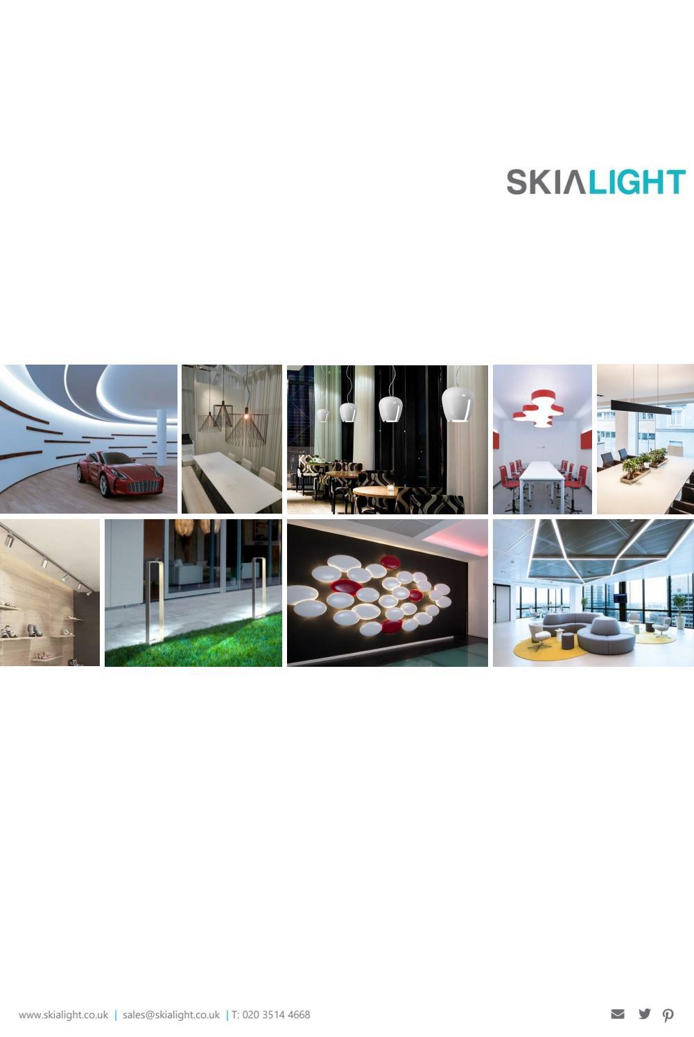 Cono Luce Faretti Led slamp lighting catalogue by skialight - issuu