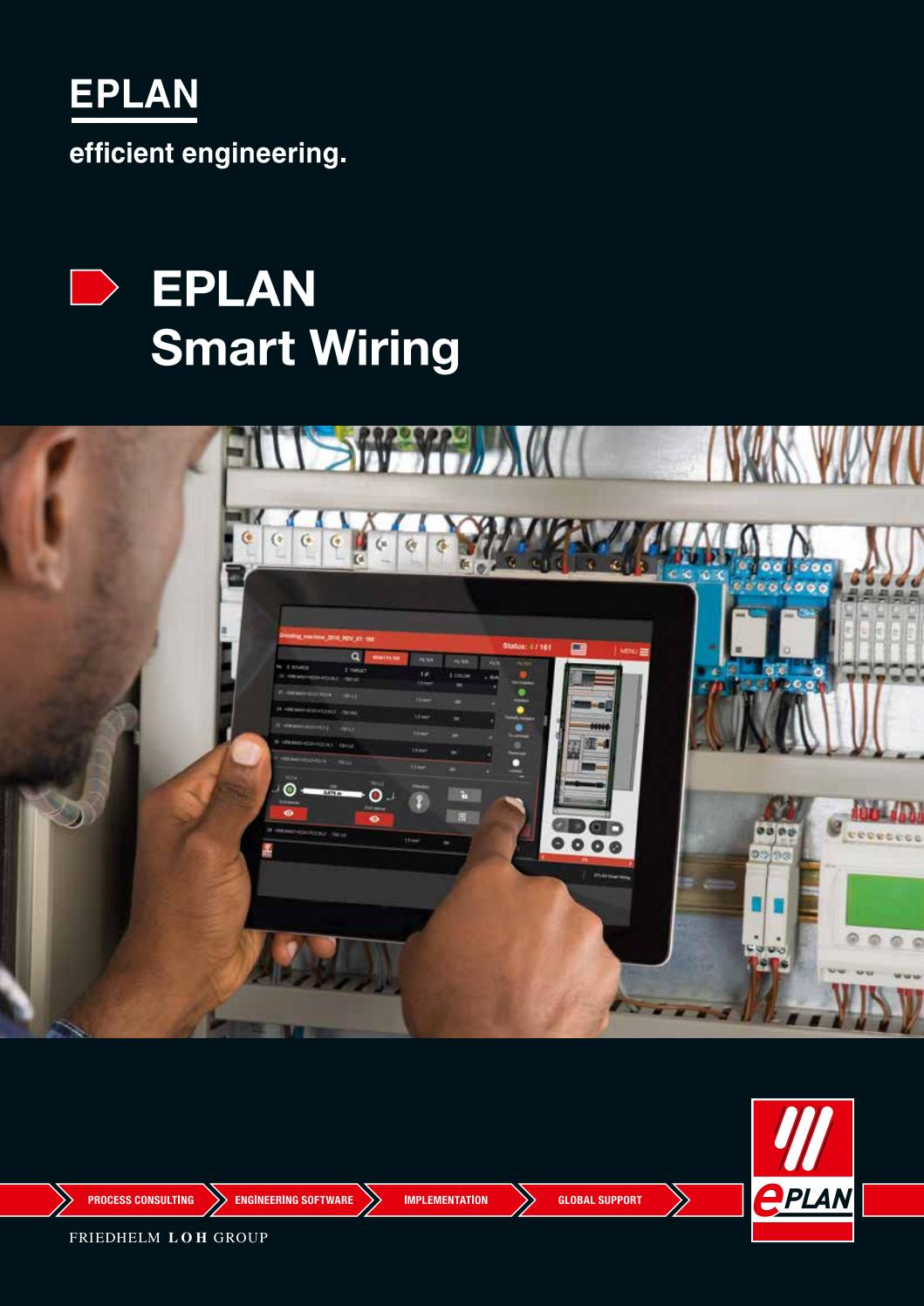 Eplan smart wiring by eplan software services s a issuu for What is eplan software