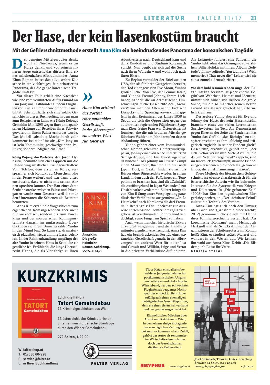 Bücher-Frühling 2017 by Falter Verlagsgesellschaft m.b.H. - issuu