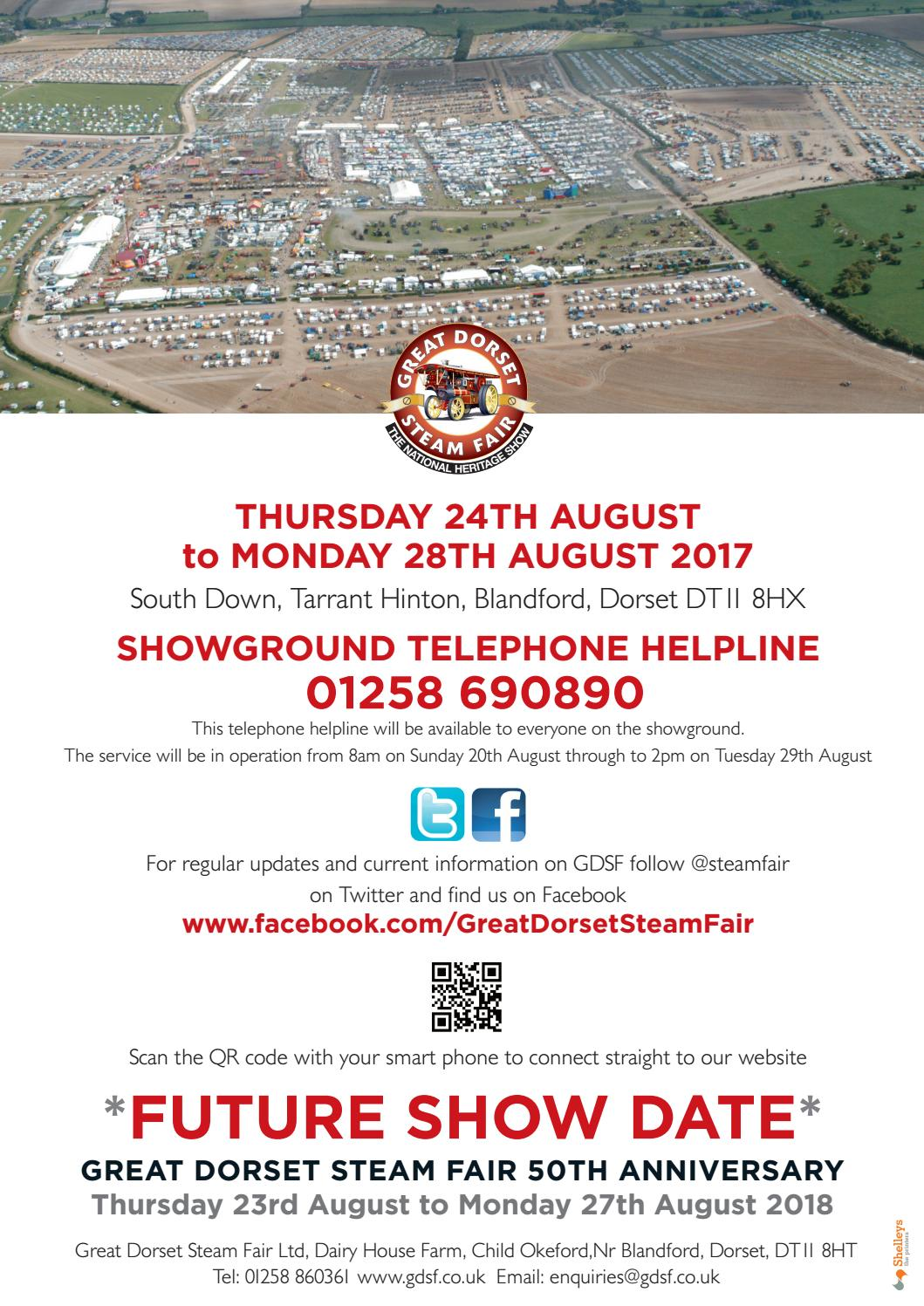 Great Dorset Steam Fair Trade and Exhibitor 2017 by Shelleys