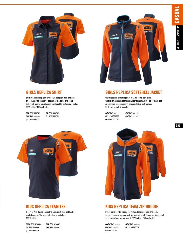 KTM KIDS REPLICA TEAM ZIP HOODIE XSMALL 3PW1895005