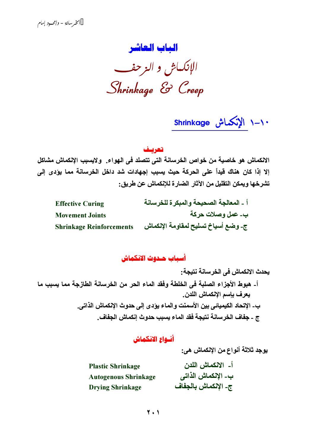 الانكماش والزحف By Hanaa Osman Issuu