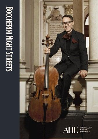 AHE Program Boccherini Night Streets by Australian Haydn Ensemble