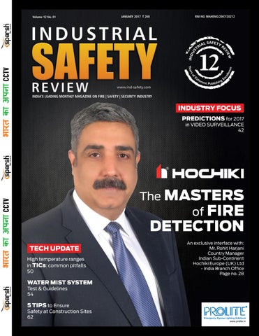 Industrial Safety Review - January 2017 by Divya Media