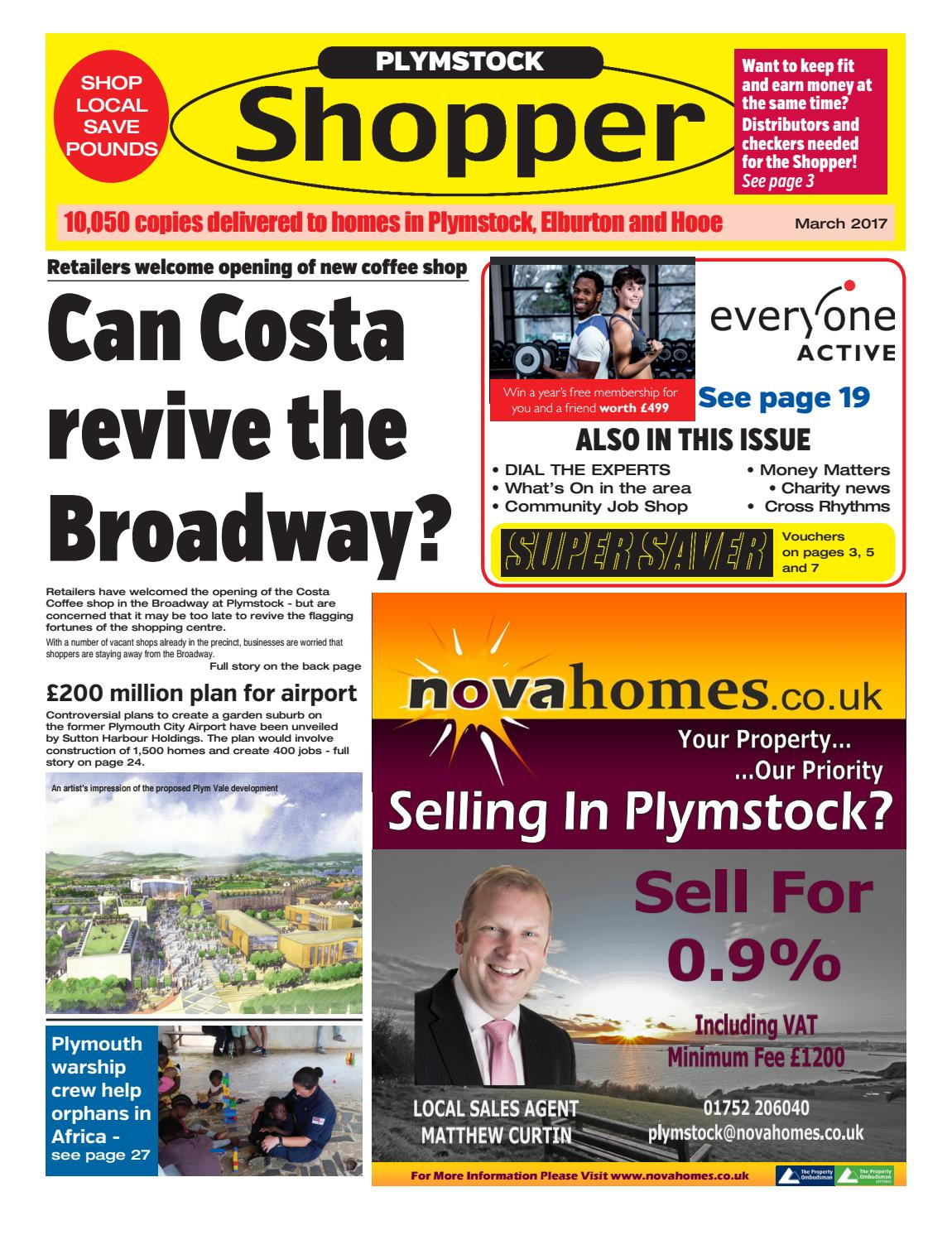 Plymstock shopper march 2017 by cornerstone vision issuu fandeluxe Choice Image