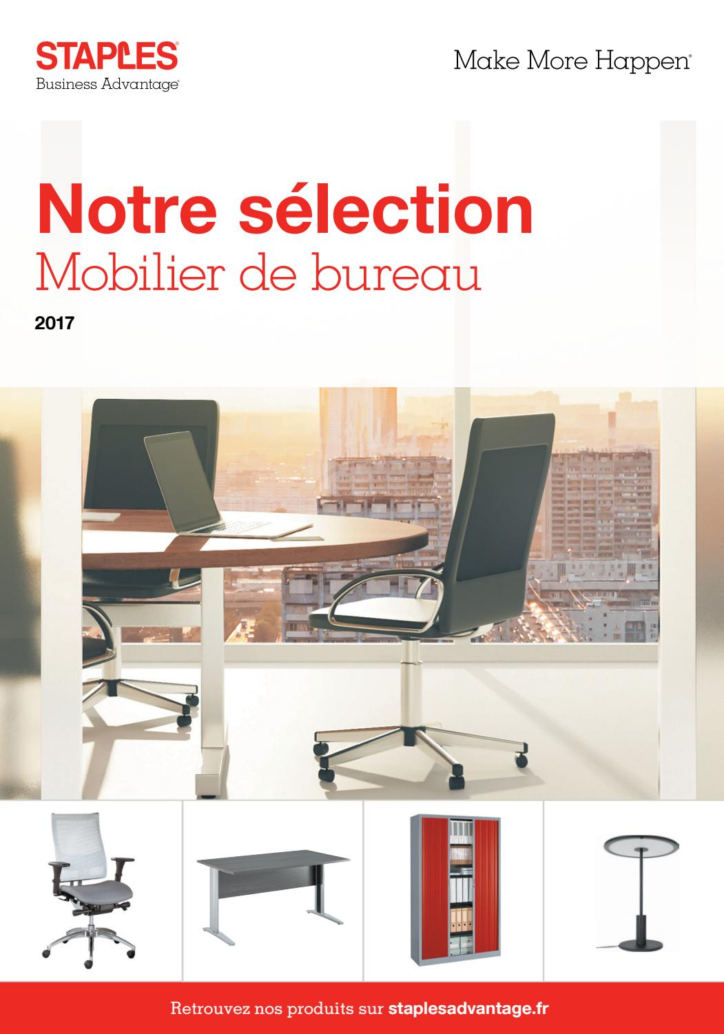 mobilier de bureau 2017 fr by staples advantage issuu. Black Bedroom Furniture Sets. Home Design Ideas