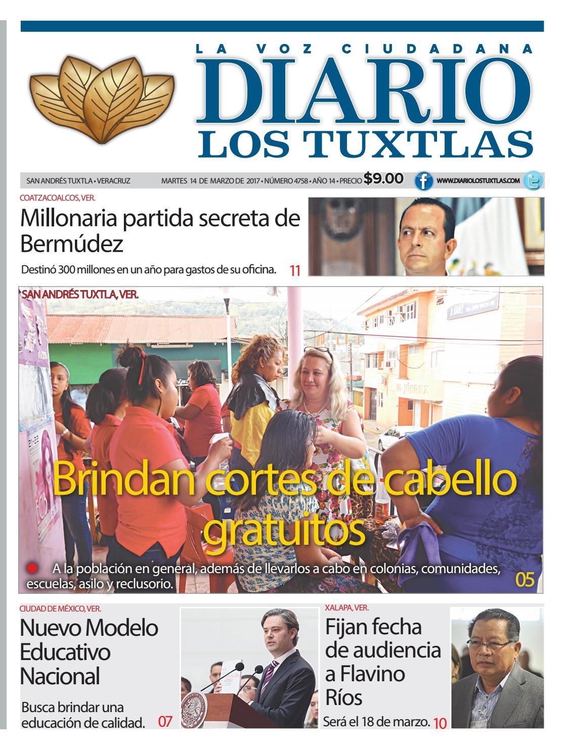 Edición de diario los tuxtlas del día 14 de marzo de 2017 by Diario ...