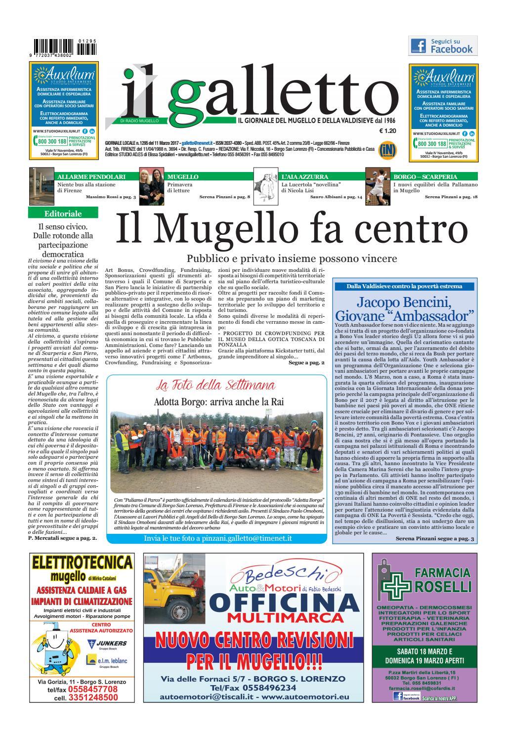 Galletto 1295 In Uscita L 11 Marzo By Il Galletto Giornale Issuu