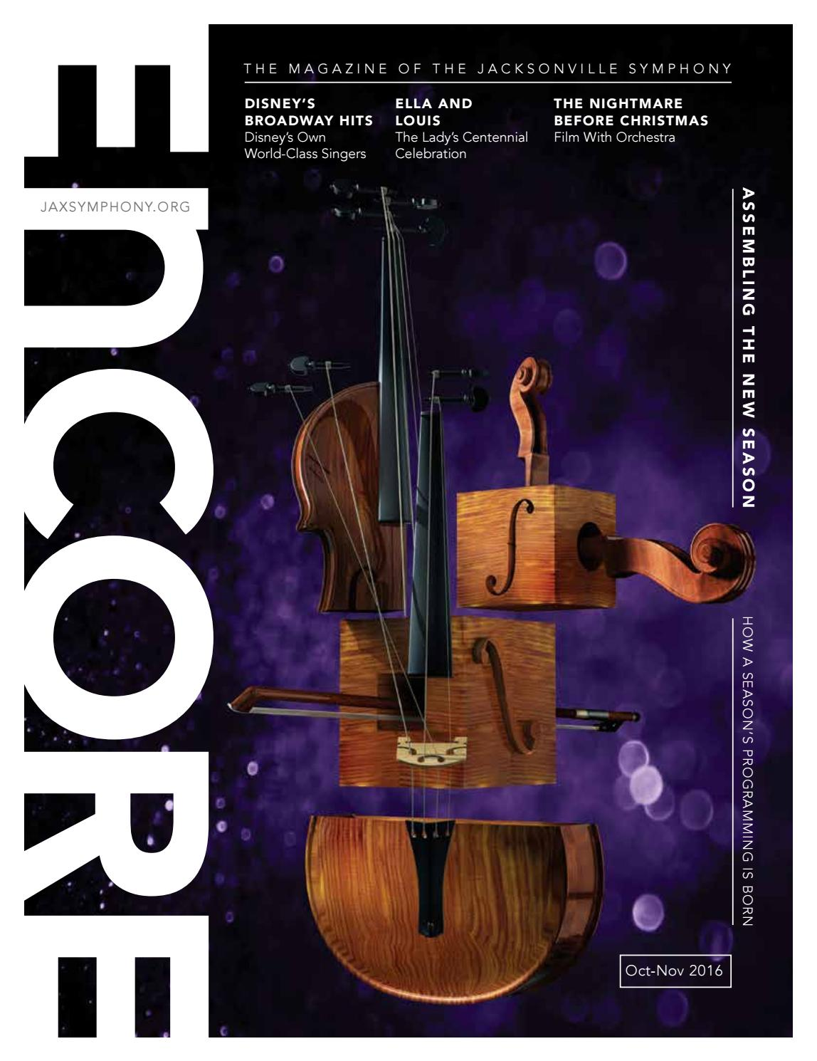 Encore program 1 2016 2017 by Jacksonville Symphony - issuu