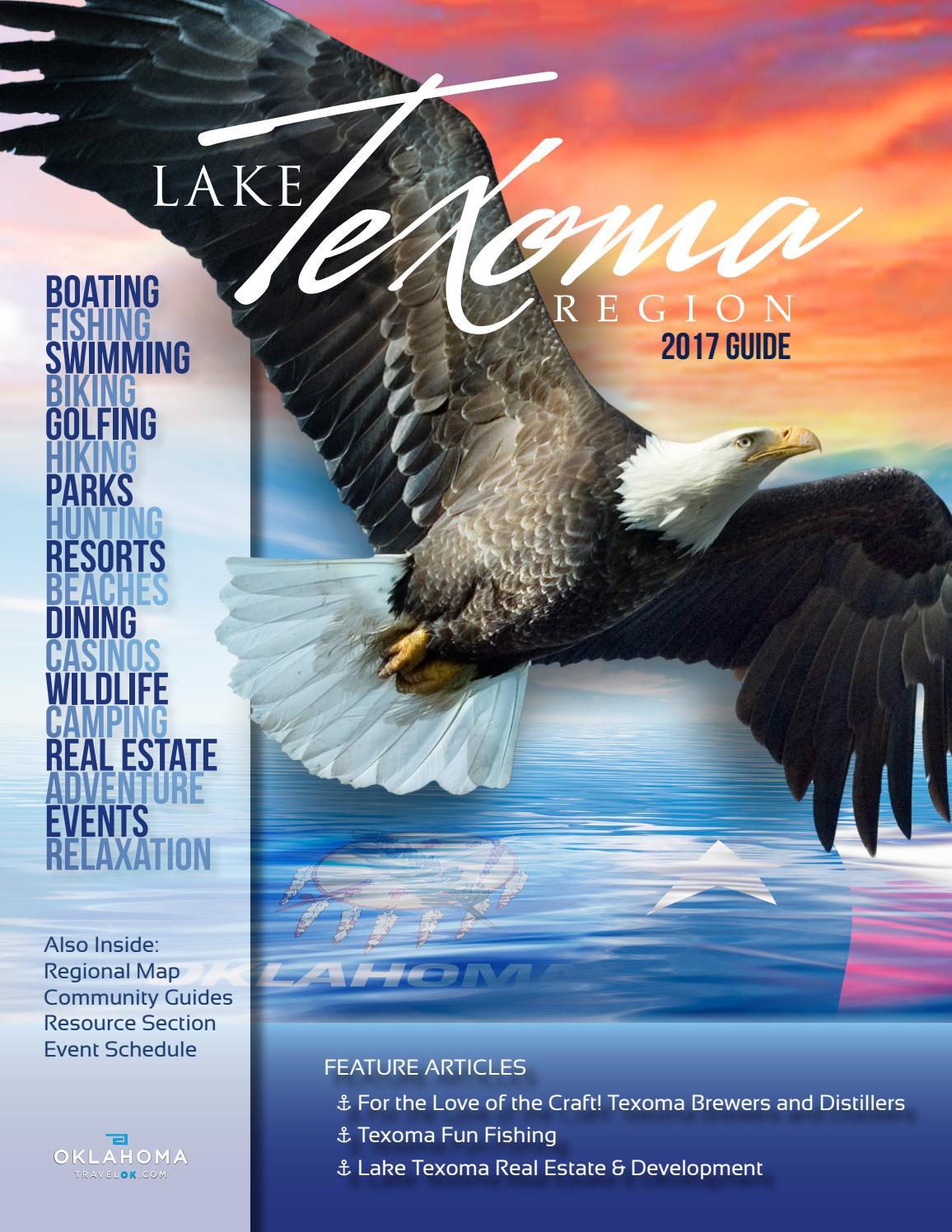 Lake Texoma Association - 2017 Guide by jeannie@moxiegraphex.com - issuu