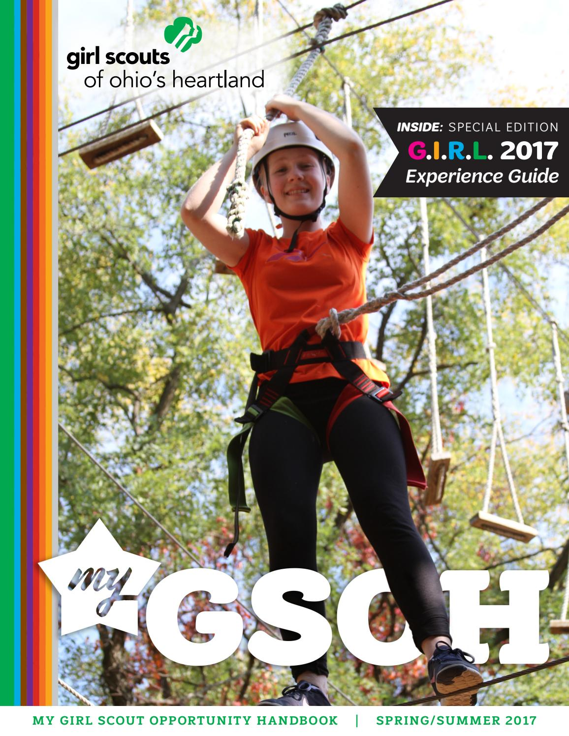 MyGSOH Spring/Summer 2017 by Girl Scouts of Ohio's Heartland