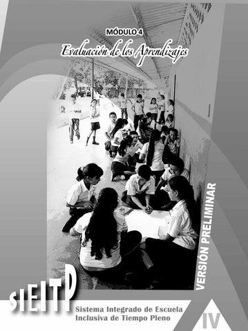 Evaluación Del Aprendizaje Modulo 4 By Educaid Onlus Issuu