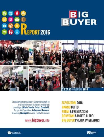 40dc701b80 Report Big Buyer 2016 by COMMERCIO Cartoleria & Cancelleria - issuu