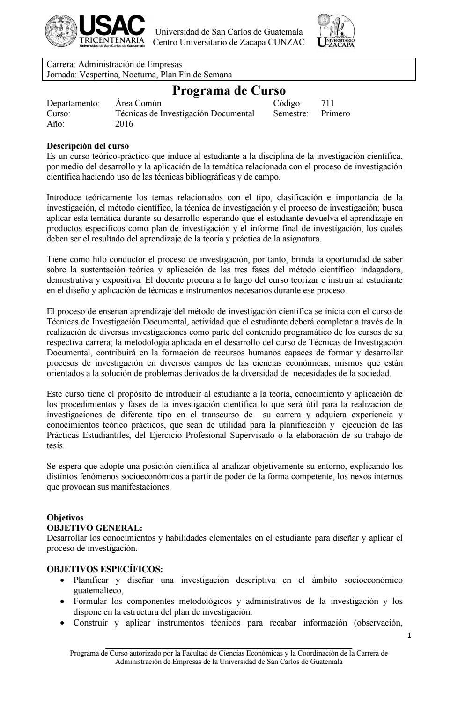 711 Técnicas de investigación documental by CUNZAC Administración de ...