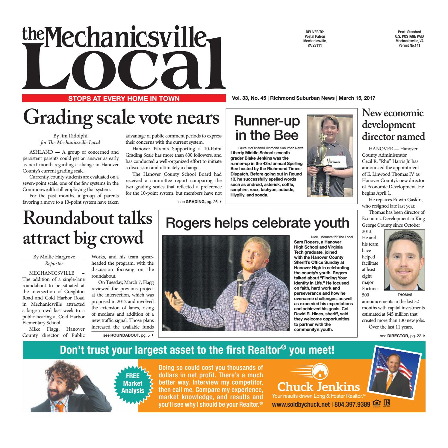 03/15/17 by The Mechanicsville Local - issuu