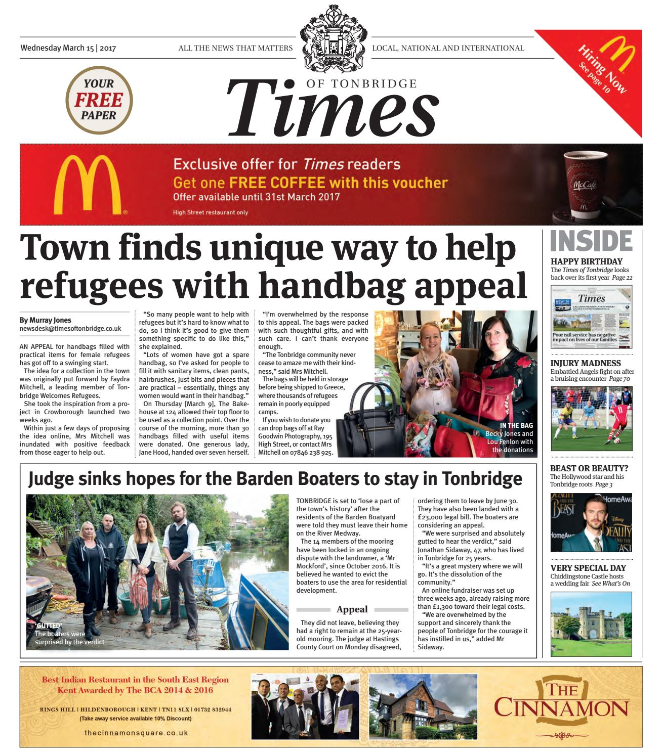 Times of tonbridge 15th march 2017 by one media issuu fandeluxe Image collections