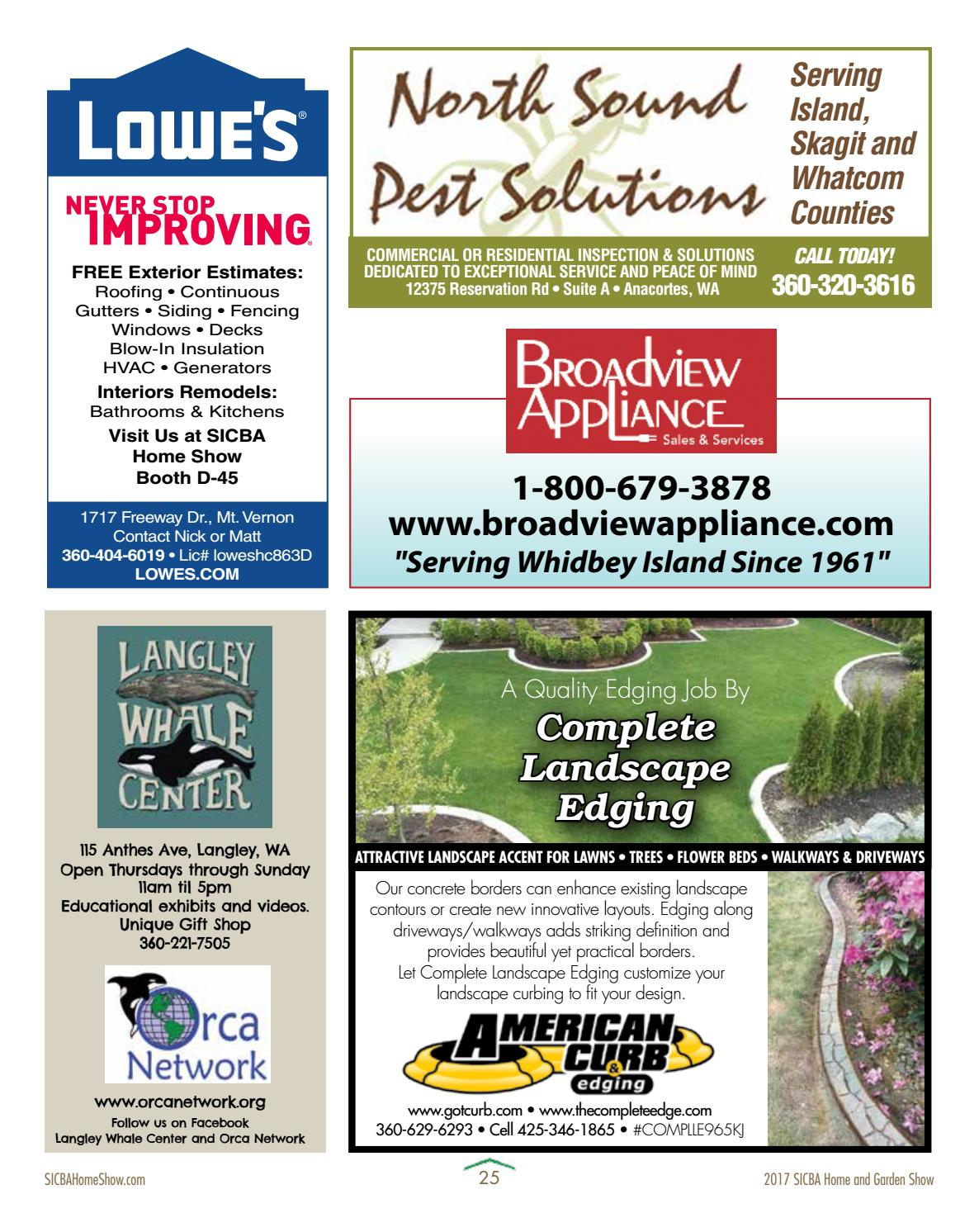 2017 Sicba Home Amp Garden Show By Whidbeyweekly Com Issuu