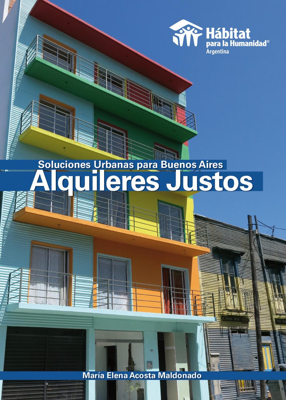 Alquileres Justos Soluciones Urbanas para Buenos Aires by Hábitat ...
