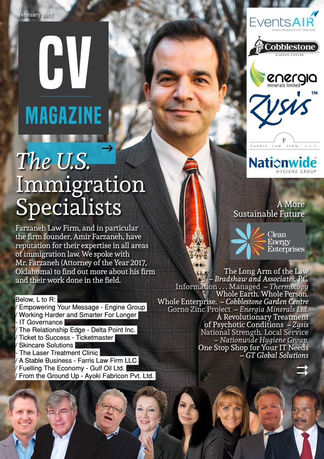 CV February 2017 by AI Global Media - issuu