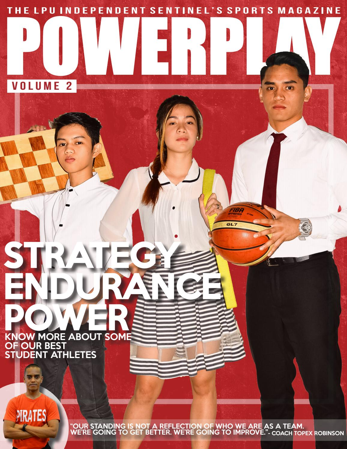 75189dc7d52b Powerplay 2.0 (2016) by The LPU Independent Sentinel - LPU Manila - issuu