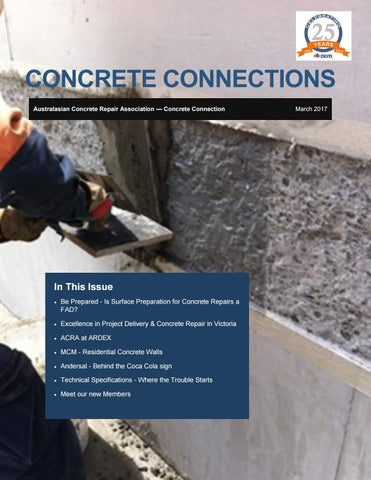 Concrete Connections March 2017 by ACRA - issuu