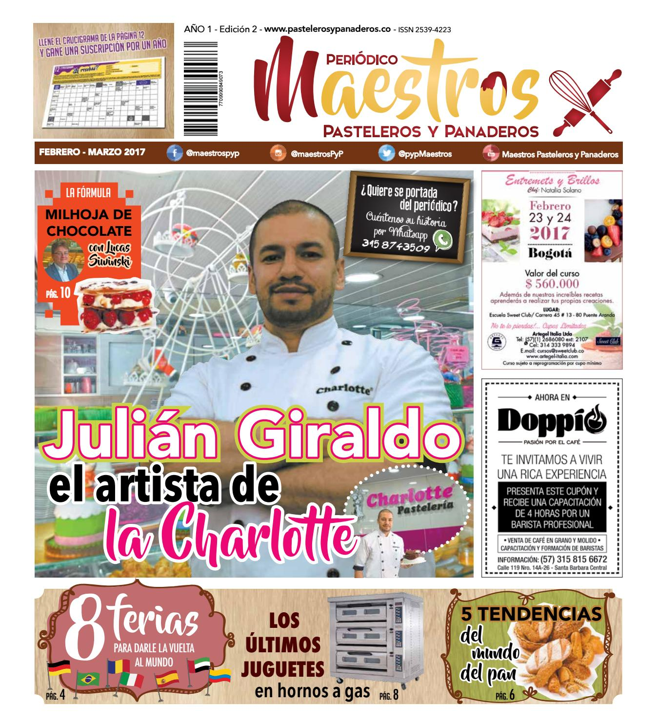 Maestros pasteleros y panaderos edición 2 by Rivaco - issuu
