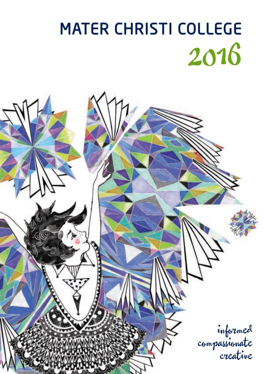 208b521cc1f Mater Christi College - 2016 Yearbook by Mater Christi College - issuu