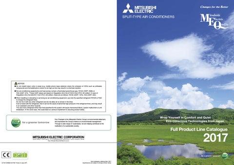 Mitsubishi Electric Generalni Katalog 2017 V Angle Kem