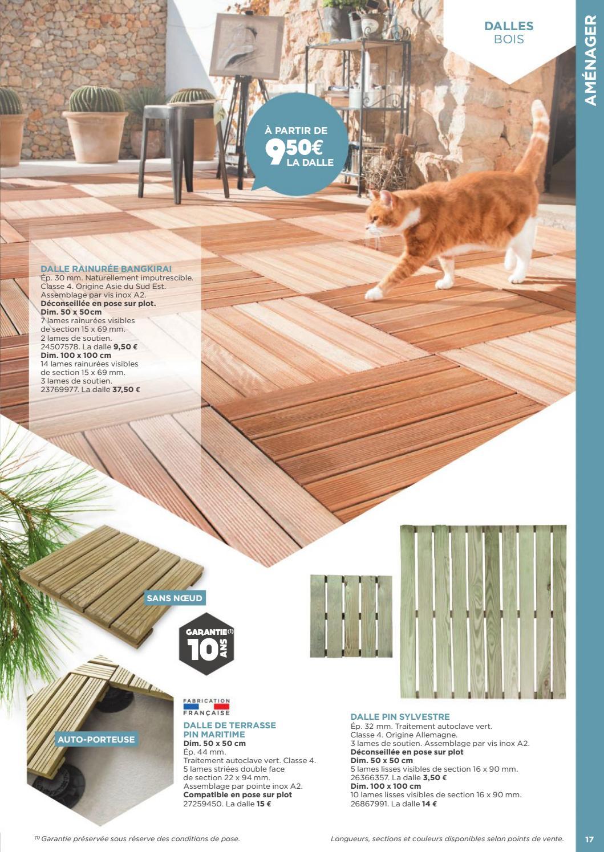 Traitement Terrasse Pin Autoclave exterieur amenagements murs terrasses jardins 2017 selection