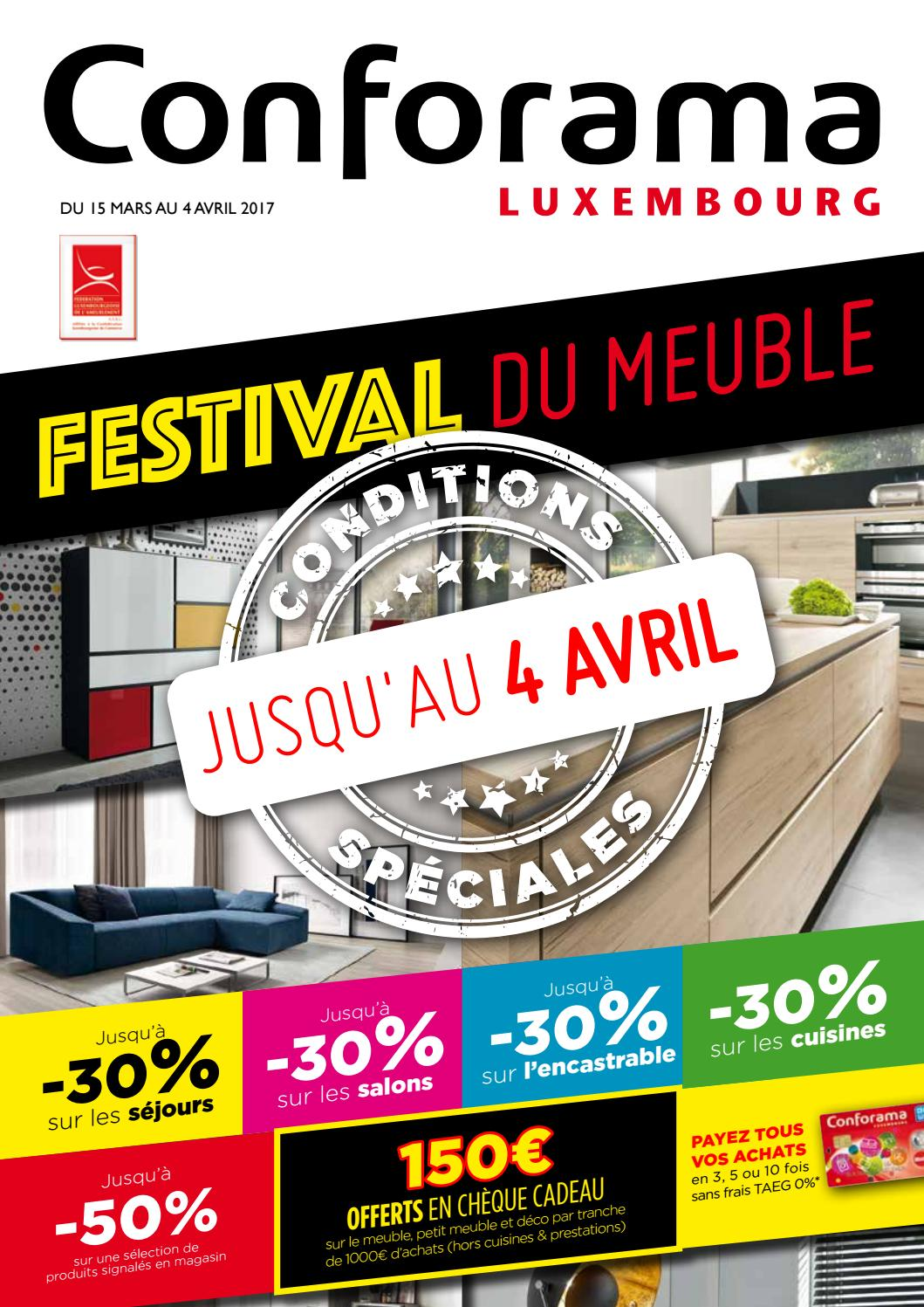 Doc 20 Festival Du Meuble By Conforama Luxembourg Issuu