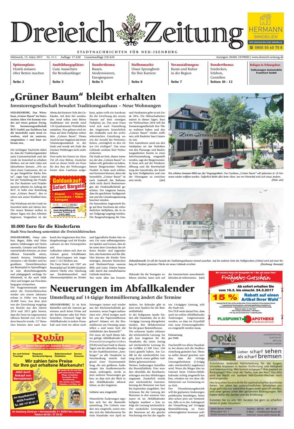 Dz Online 011 17 C By Dreieich Zeitung Offenbach Journal Issuu