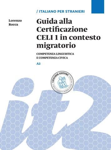 Guida alla Certificazione CELI 1 in contesto migratori by ...