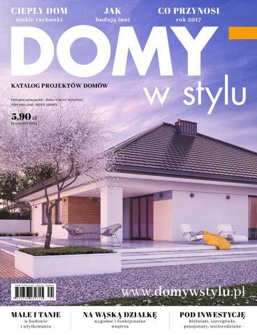 Projekty Domów Katalog Domy W Stylu 1382017 By Domy W Stylu Issuu