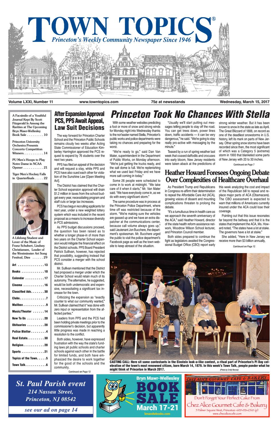 Town Topics Newspaper March 15 2017 By Witherspoon Media Group Issuu Wiring Harness Main Under Dash For Scout 800 1966 To 68