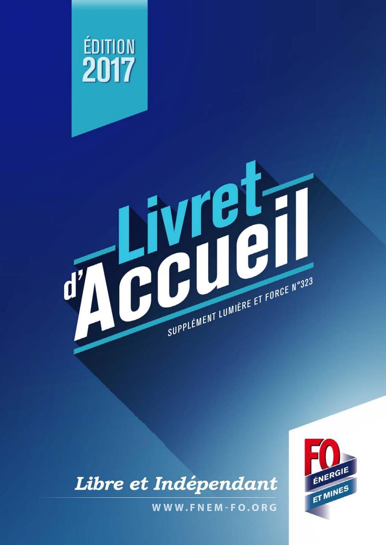 Livret d'acceuil IEG FO Energie et Mines V.40 by FO Énergie et ...