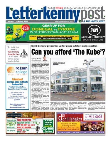 Letterkenny post 16 03 17 by River Media Newspapers - issuu