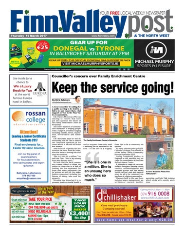 Finn Valley Post 16 03 17 By River Media Newspapers Issuu