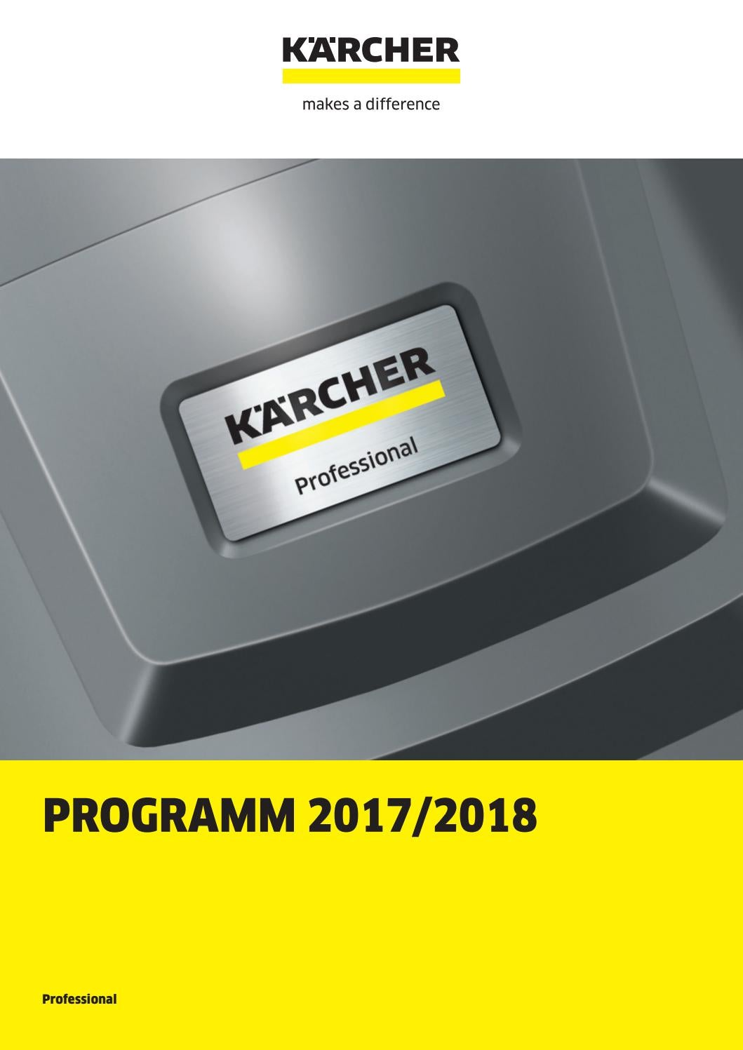 Kärcher prof 2017 de by technomag-ch - issuu