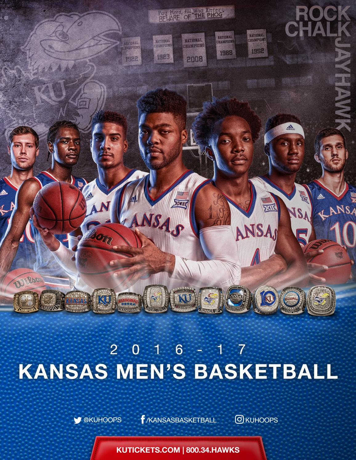 88f5fd5b0c1 2016-17 Kansas Basketball Media Guide by Kansas Athletics - issuu