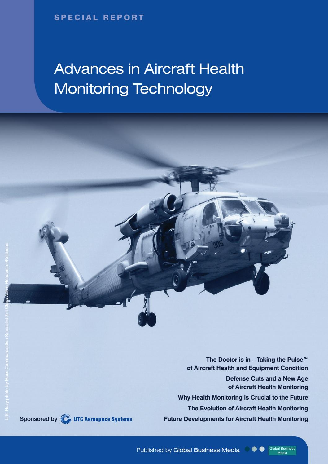 Turbine Engine Vibration Monitoring Systems : Defence industry report advances in aircraft health