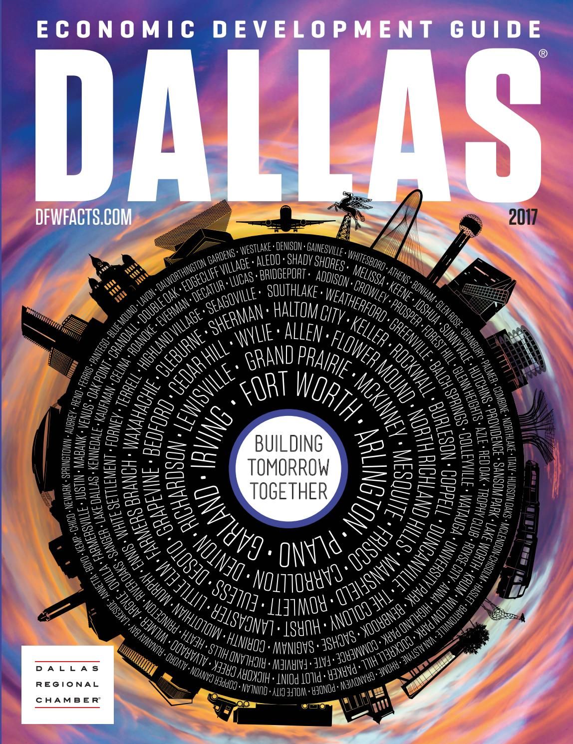 Dallas Economic Development Guide - 2017 by Dallas Regional