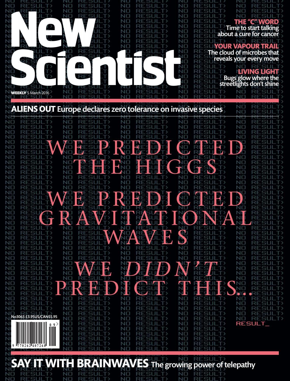 New scientist 5 3 2016 by Mark Bradshaw - issuu
