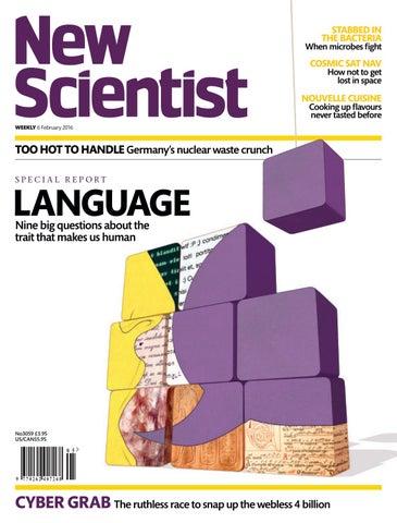 5efdcced6b1c New scientist 6 2 2016 by Mark Bradshaw - issuu