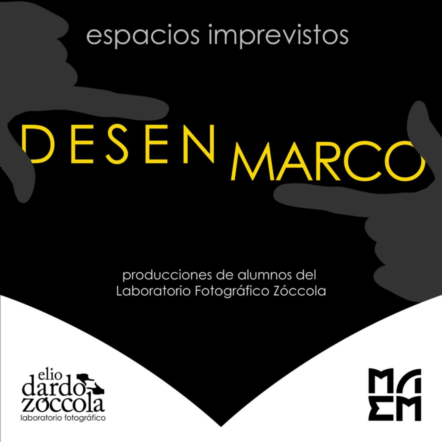 Desenmarco | Mzo 2017 | MAEM by Museo De Arte Eduardo Minnicelli - issuu