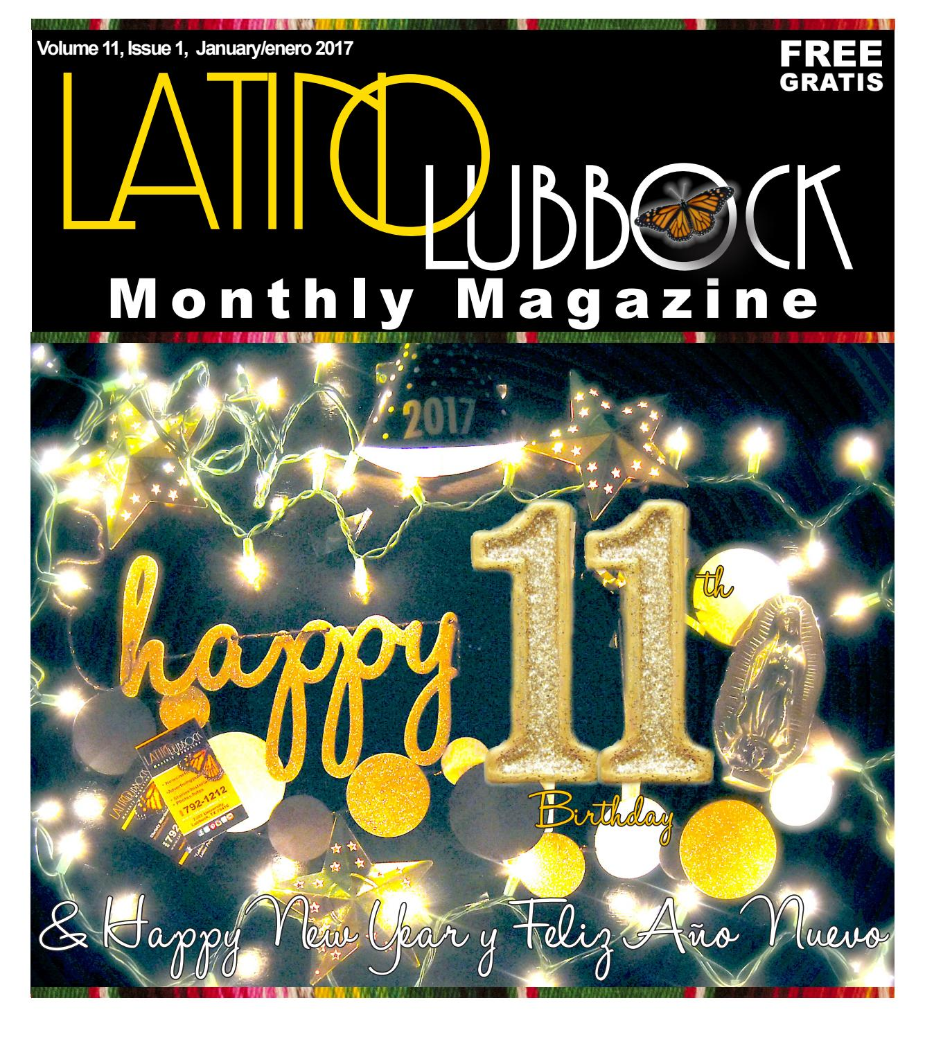 2017 January Latino Lubbock Magazine by Christy Martinez-Garcia - issuu