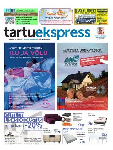 9a886563a50 Tartu Ekspress, 16.03.2016 by Tartu Ekspress - issuu