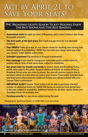 PNC Broadway Lights Season Ticket Holders Enjoy The Best Shows And The Best  Benefits U2022 Guaranteed Seats For Eight (or Nine) Of Broadway And ... Amazing Ideas