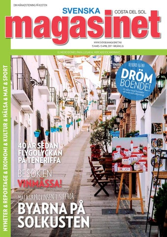 on sale bd486 afc62 Mars 2017 by Svenska Magasinet, Spanien - issuu