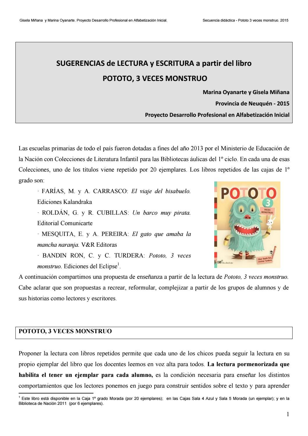 5 secuencia pototo 3 veces monstruo 2015 by java weiss issuu for Fuera de aqui en ingles